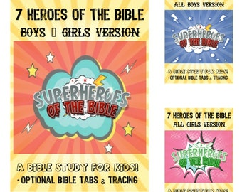 KIDS BIBLE JOURNALING