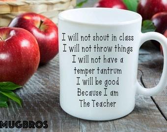 I am the Teacher funny Coffee Mug