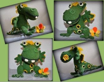 Green Dragon Pattern