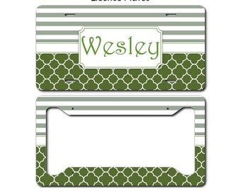 License Plate, License Plate Frame, License Plate Art, Car Tags, Monogram License Plate, Personalized License Plate, Monogram Car Tag