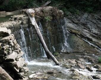 Waterfall Blank Greeting Card