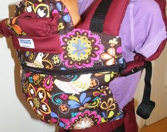 Baby carriers slings, full buckle INDIGO HANDMADE