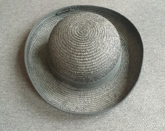 Jeager straw boater hat