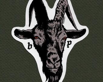 Black Phillip sticker. The Witch.