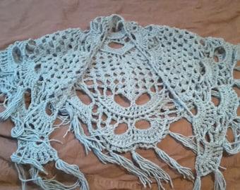 Crocheted shawl, on sale!