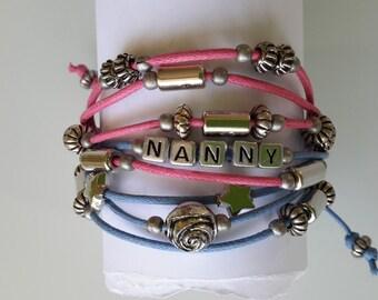 Personalised Custom Made Leather Bracelet