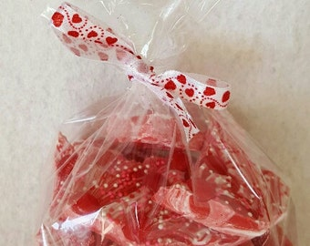 Red Hots or M&M Valentine Chocolate Candy Bark, Chocolate Bark, Valentines Day Candy Bark, Valentine Gift
