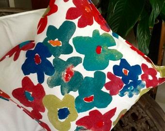 Autumn Flowers Cushion Cover