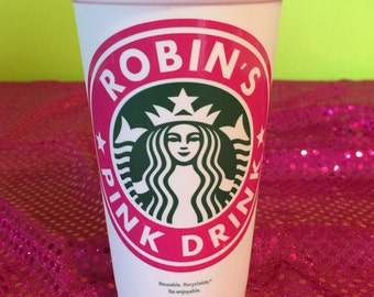 Plexus Personalized & Customized Pink Drink Starbucks Cup