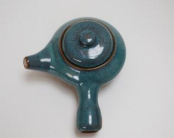 Blue Celadon Korean Teapot