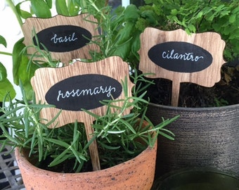 Customized herb markers