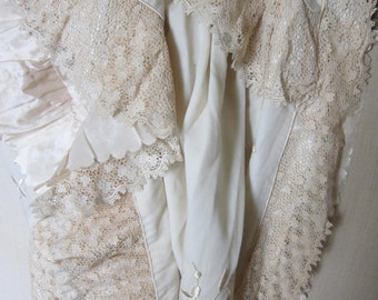 Victorian ivory cape