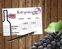 Wine Tasting Party // Party Kit // Printable // Instant Download