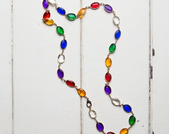 80's Jewel Necklace