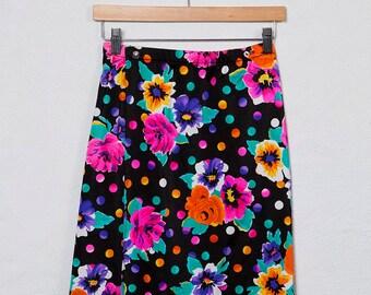 80's Wrap Skirt