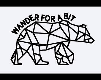 Wander for a bit  T-shirt