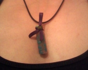 Heat-filled Vial Necklace