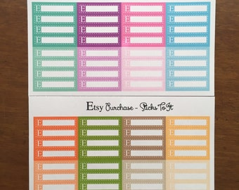 Etsy Purchase Tracking Planner Stickers ECLP Mambi Inkwell Press Filofax Kikki K Happy Life Planner Header