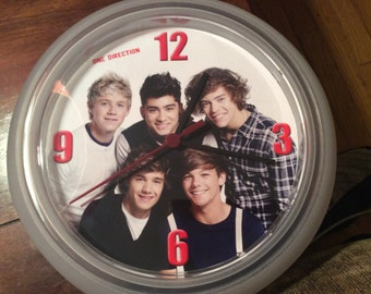 1 One Direction (band) Upcycled Wall Clock