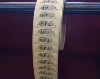 UPC Labels, Bar Code Labels