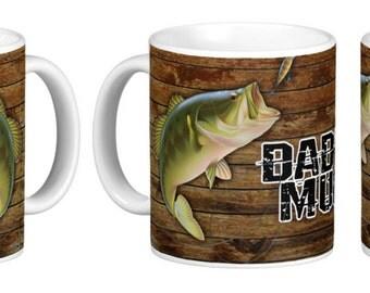 Fishing Mug, Dad's Fishing Mug, Customizable Fishing Mug, Custom Mug For Fisherman