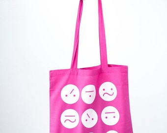 Pink Frown Bag