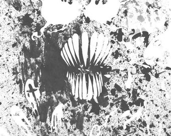Venom Black Print 8.5x11