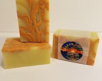 Handmade Soap - Shampoo Bar with Jojoba Oil