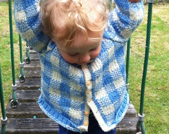 HARRY by Anna Wilkinson, hand knitting pattern, DOWNLOADABLE PDF