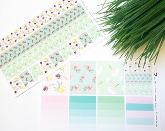 Mini Spring print stickers