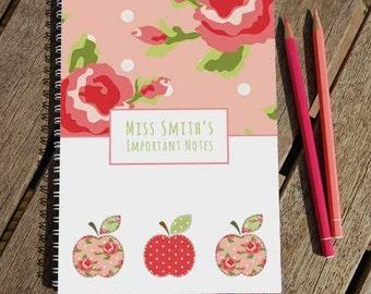 Apples Personalised Notebook