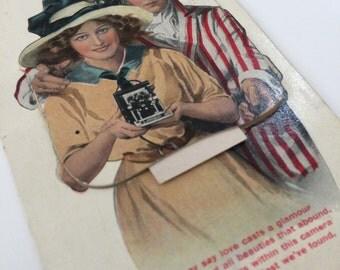 Edwardian Novelty Postcard Devizes