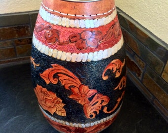 Tall Western Decorative Gourd Vase