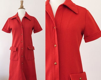 Vintage 1960s-1970s Dress