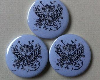 "Sonic Youth ""Drunken Butterfly"" Pinback Button"