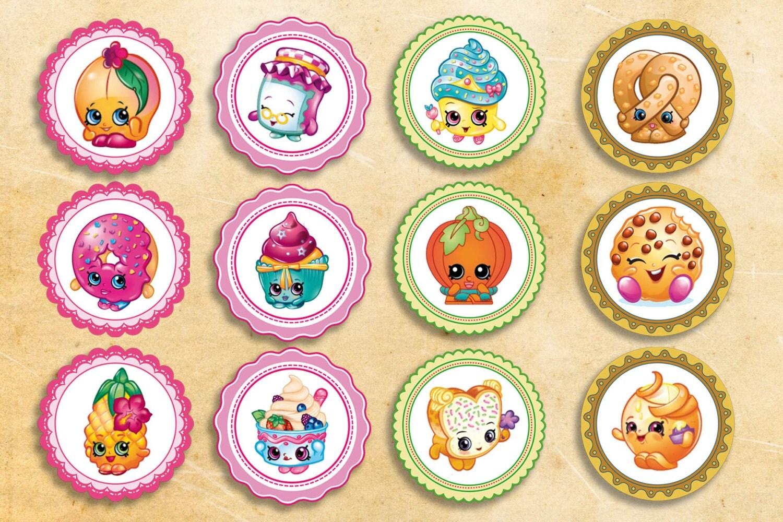 Beautiful Shopkins Cupcake Toppers Free Printable Shopkins Cupcake Toppers Instant. Shopkins  Cupcake Toppers Free Printable   Shopkins ...