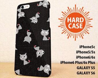 iPhone5 case iPhone5s case iPhone6 case iPhone6s case iPhone6 Plus  case iPhone6s Plus case GALAXY case Cat&Dot