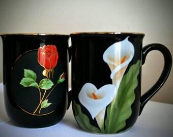 Vintage Otagiri cups. Japan