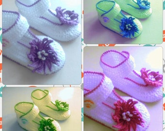 Crochet Baby Booties Baby Sandals Baby Shoes Newborn Converse Shoes