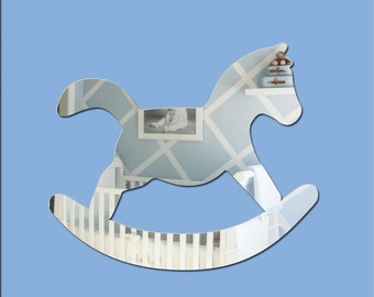 Acrylic 'Rocking Horse' Safety Mirror - Range of Sizes
