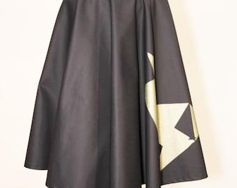 Skirt Midi series No 9 black