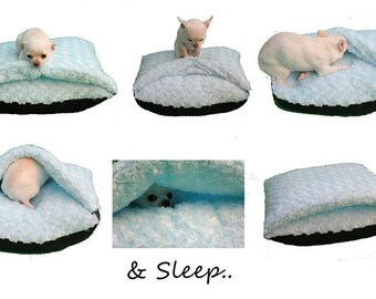 Soft faux fur pet bed