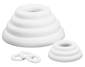Flat ring Ø 35 cm, polystyrene-Rayher