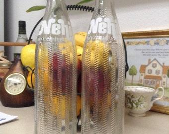 Vintage NEHI 16oz Soda Bottle Vintage Nehi Drink Glass Bottle