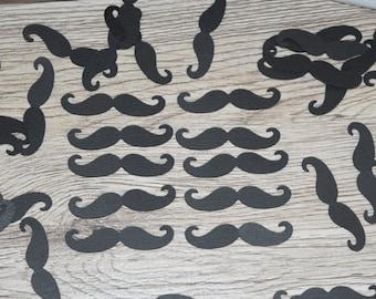 Baby Shower Moustache Confetti, Mr Baby Shower Decorations, Gender Reveal Decoration, moustache party decoration, mustache theme decoration
