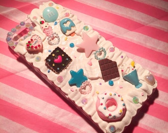 ready to ship iPhone 5 kawaii case with whipped cream