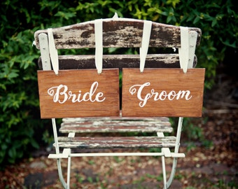 Bride and Groom Sign,Rustic Wedding,Wooden sign,Wedding Sign,Rustic Wooden Sign,Personalised sign,Hand painted,Marriage sign,Shabby Chic