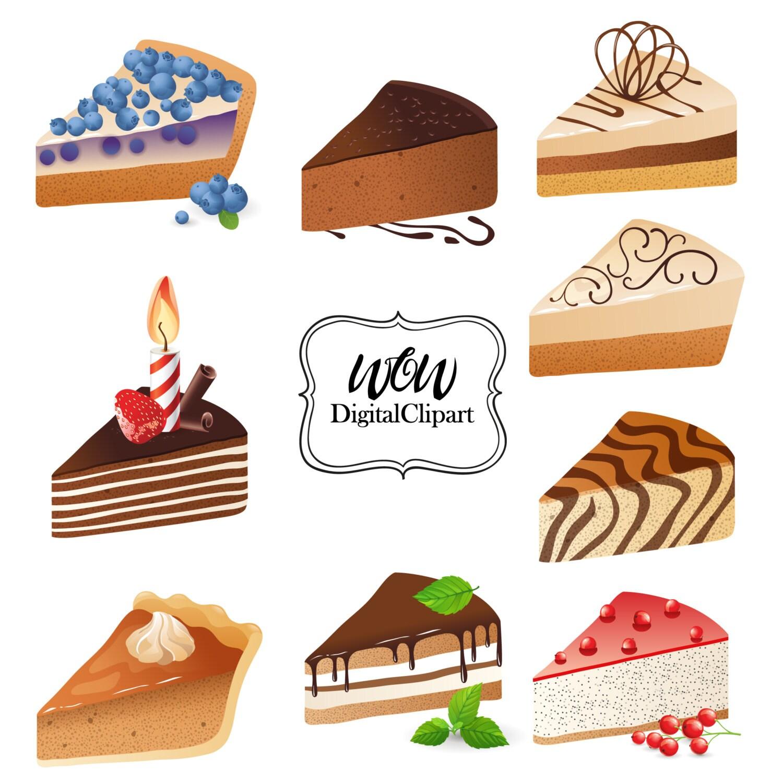Clip Art Bakery Cake : Cupcakes Clipart Clip Art Bakery Clipart Digital Clipart