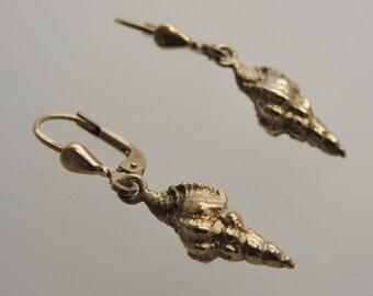 Snail pendant in 925 sterling silver-Schnecke earrings in 925 solid silver.