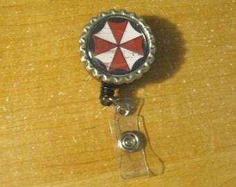 Resident Evil inspired - Retractable badge holder